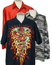 Mens 90s Club Shirts & Rave Shirts