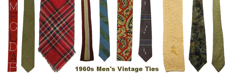 Men's 60s Vintage Neckties