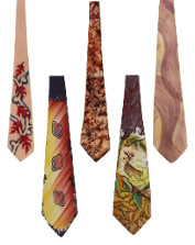 Handpainted Ties