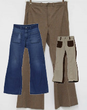 Men's Vintage Bellbottom Pants