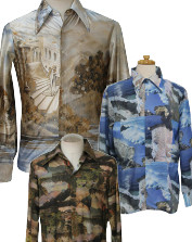 Men's Vintage Photoprint Disco Shirts