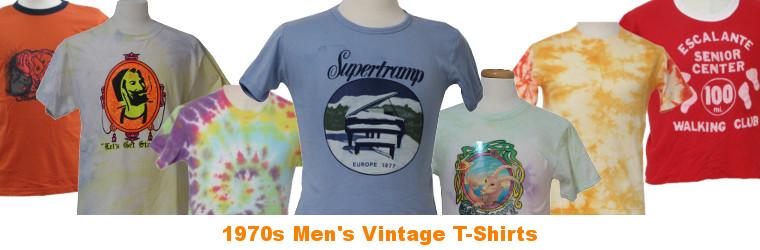 Men's 70s Vintage T-Shirts