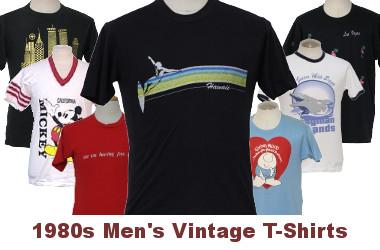 Men's 80s Vintage T-Shirts