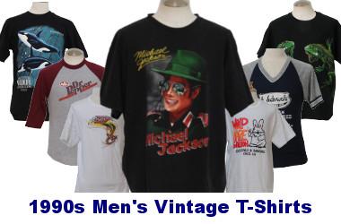 Men's 90s Vintage T-Shirts