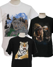 Mens Vintage Animal T-Shirts