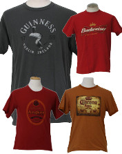 Vintage Mens Beer T-Shirts & Alcohol Tees