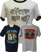 Mens Vintage Cheesy T-Shirts