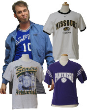 Mens Vintage Sports & Althetic T-Shirts