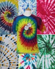 Mens Vintage Tie-Dye T-Shirts