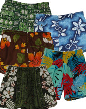 Men's Retro Hawaiian Shorts