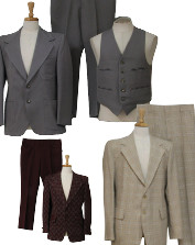 Men's Vintage Disco Suits