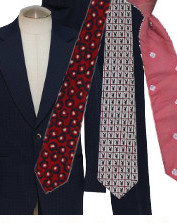 Men's Vintage 70s Neckties