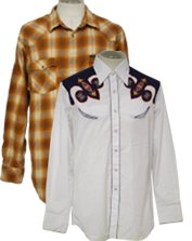 Mens Vintage Western Shirts