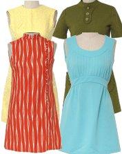Vintage Mini Dresses