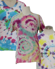 Vintage Womens Tie-Dyed T-Shirts