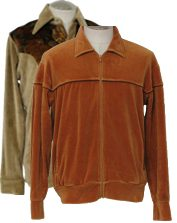 Vintage Mens 70s Velour Shirts