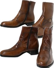 Mens Vintage Ankle Boots