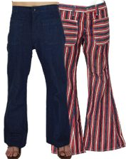 1970s Mens Bell bottoms