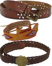 Mens Hippie Belts