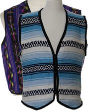 Mens Hippie Vests