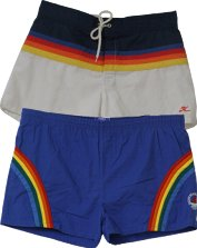 Men's Rainbow Shorts