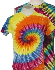 Mens Tie Dye Hippie T-Shirts