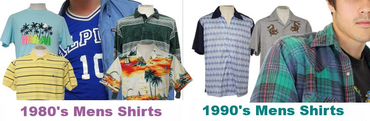 Mens 80s & 90s Vintage Shirts