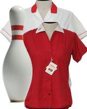 Womens Vintage Bowling Shirts