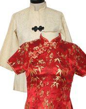 Womens Vintage Cheongsam & Oriental Shirts