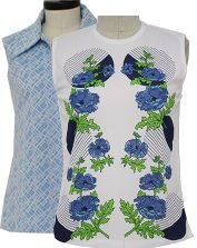Womens Vintage Sleeveless Tops
