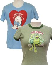 Womens Vintage T-Shirts