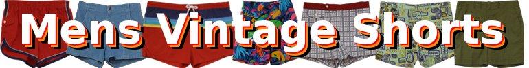 Mens Vintage Shorts
