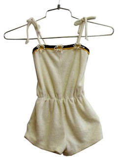 1980's Womens/Childs Knit Romper Shorts