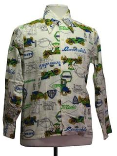 1970's Mens Sports Shirt
