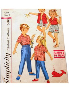 1960's Childs Pattern