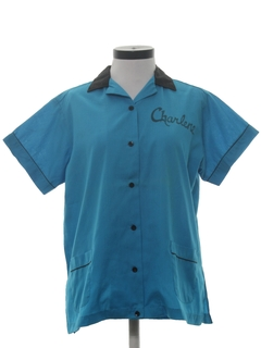 1960's Womens Bowling Shirt