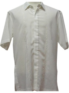 1980's Mens Embroidered Shirt