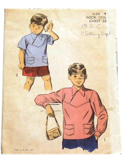 1940's Mens/Boys Pattern