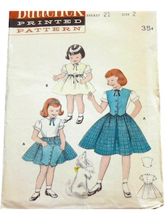 1950's Womens / Childs Pattern