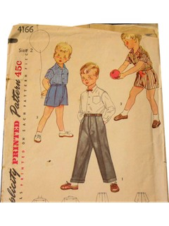 1950's Mens/Childs Pattern
