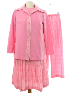 1970's Womens Dress Set