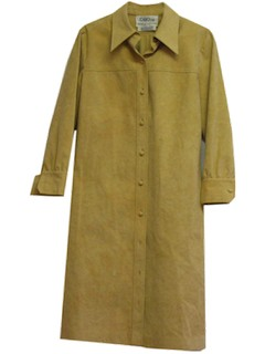 1970's Womens Ultra Suede Dress
