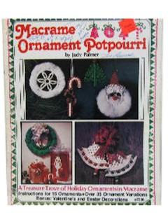 1980's Macrame Pattern Book