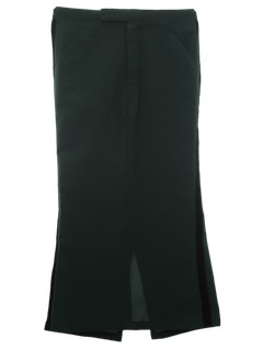 1970's Womens Tuxedo Skirt