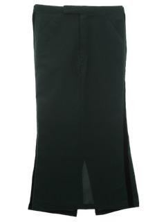 1970's Womens Tuxedo Skirt