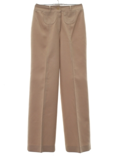 1970's Womens Flared Hip Hugger Pants