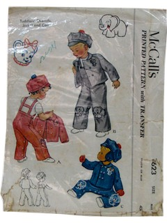 1950's Unisex/Childs Pattern