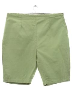 1960's Womens Mod Shorts