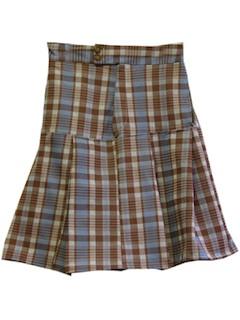 1970's Unisex Kilt Skirt