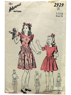 1940's Womens/Childs Pattern